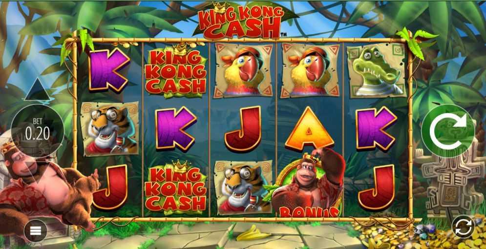 Blueprint Gaming หน้าเล่นเกมสล็อต King Kong Cash สล็อตออนไลน์จาก UFABET